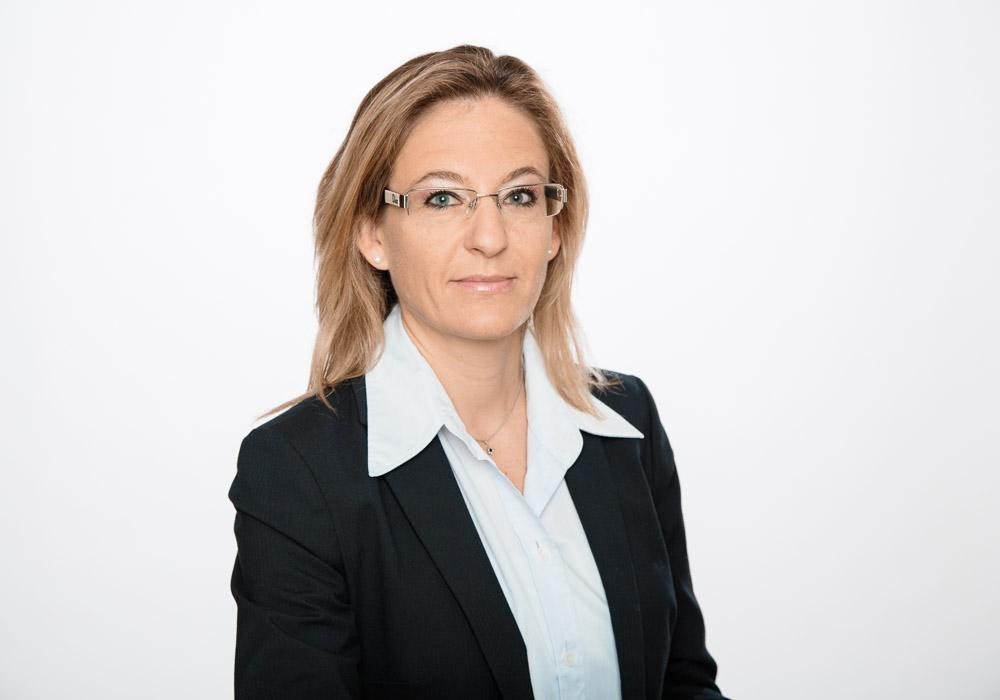 Bewerbungsfoto-Business, Frau, fotografiert vom Fotograf/Fotostudio