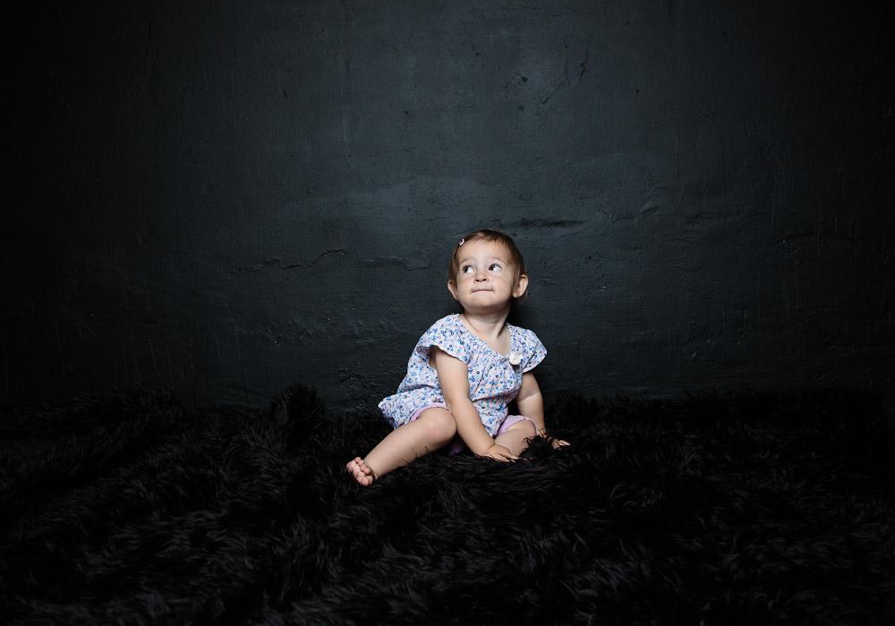 Kinderfoto-Babyfoto, fotografiert vom Fotograf/Fotostudio